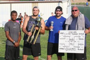 Travis Hall Foundation was the 2016 AFA competition tournament champions